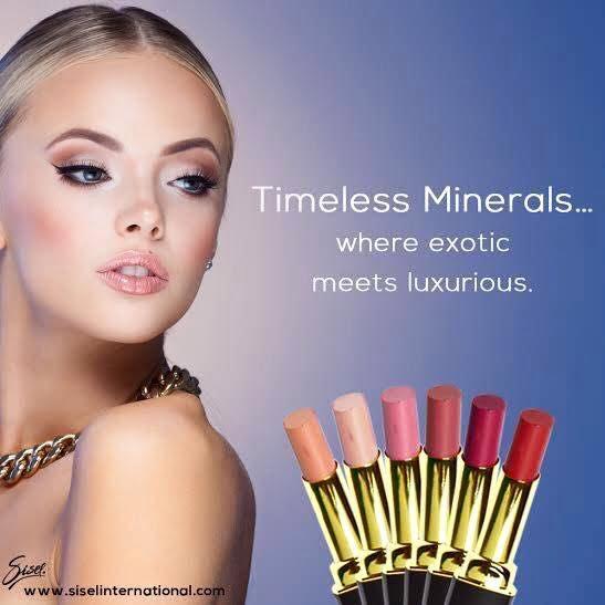 7 Shades of Lipstick Toxin Free Organic