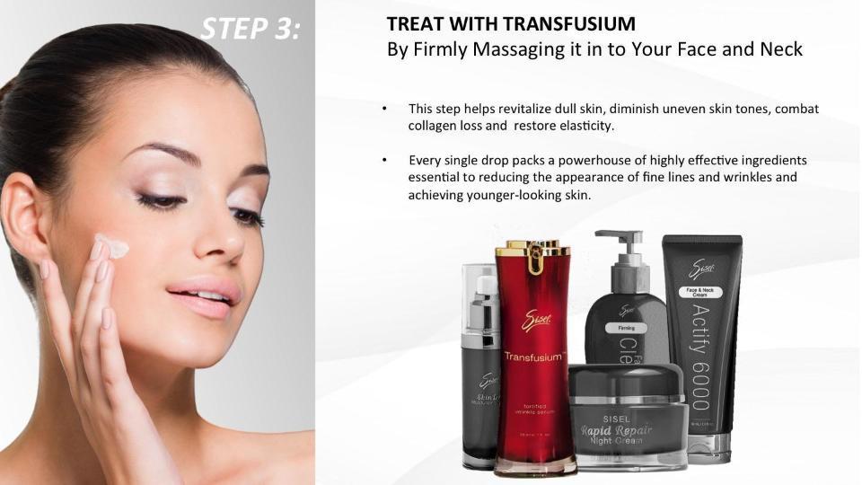 Anti Aging Skin Care Toxic Free Sisel's Skin Care Renewal System Step Three