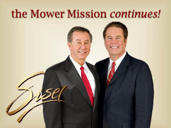 Mower Mission continues with Sisel