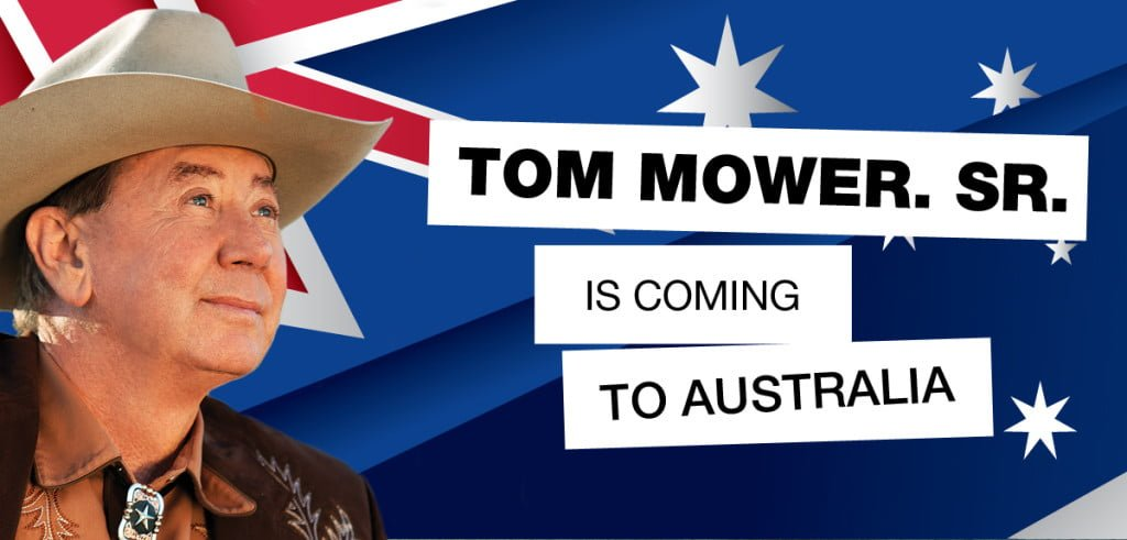 Tom Mower is presenting in Australia