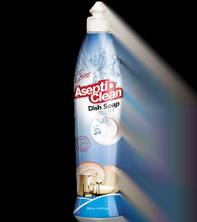 Toxic Free Living use Sisel's Asepti Clean Dishwashing Liquid