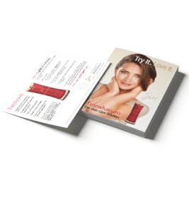 Transfusium-Try-It-and-Love-It-Postcard-Sisel-International-Sisel-Australia-BTOXICFREE-sisel-distributor