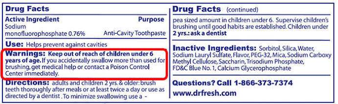 why you should choose Toxin Free Toothpaste