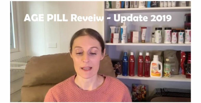 AGE PILL Review Update 2019 July sisel international