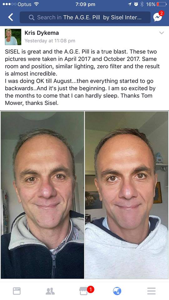 Age Pill Review Chriss husband looks younger