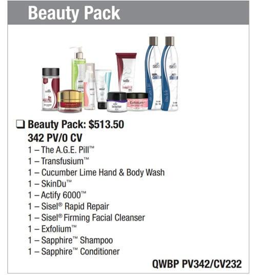 Beauty Wealth Pack Sisel