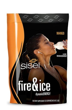 Fire and Ice Sisel Energy Drink