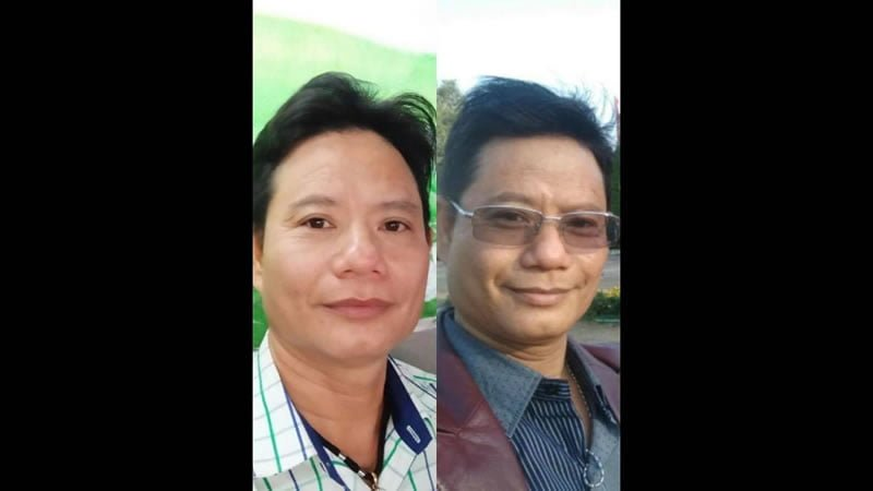 SIsel AGE Pill Thanh Le before and after 5 months of taking the AGE Pill