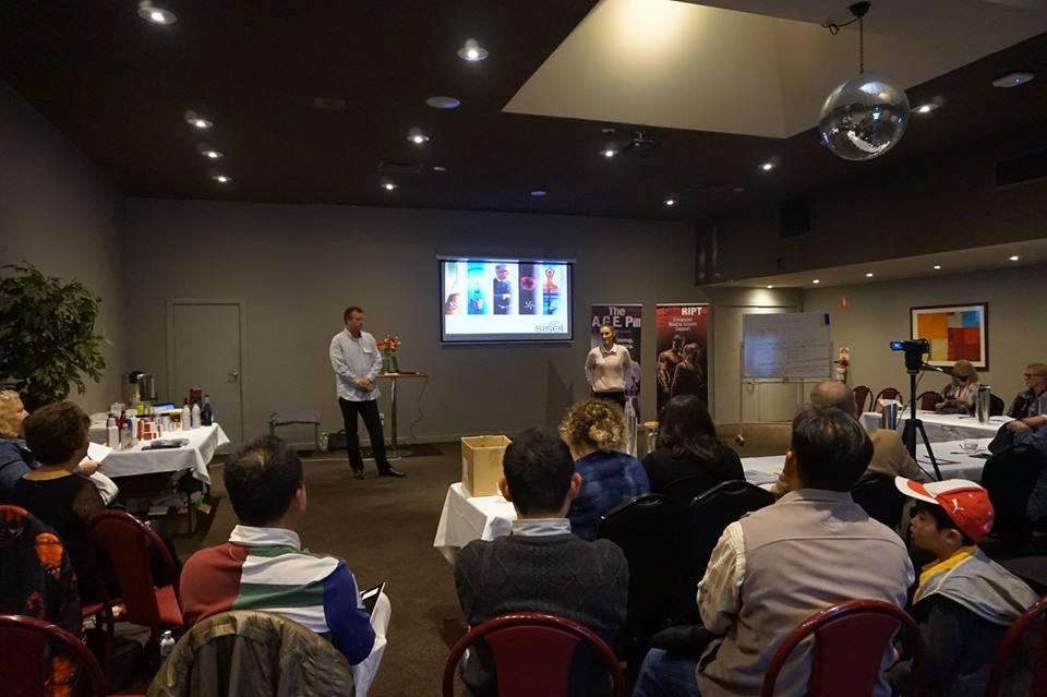 Sisel Australia, Sisel International Distributors presenting in Melbourne.