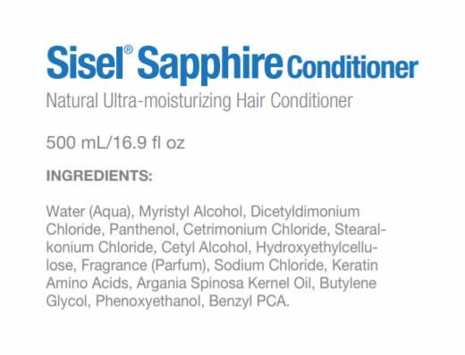 Sisel International Sapphire Conditioner