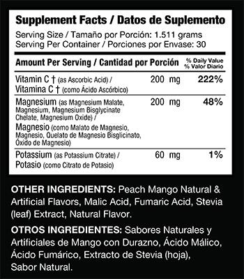Sisel H2 Stix Ingredients- Sisel Hydrogen Water - Diatomic Hydrogen Water