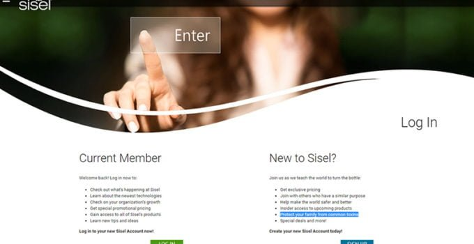 Sisel Login Order Sisel Products Back office training