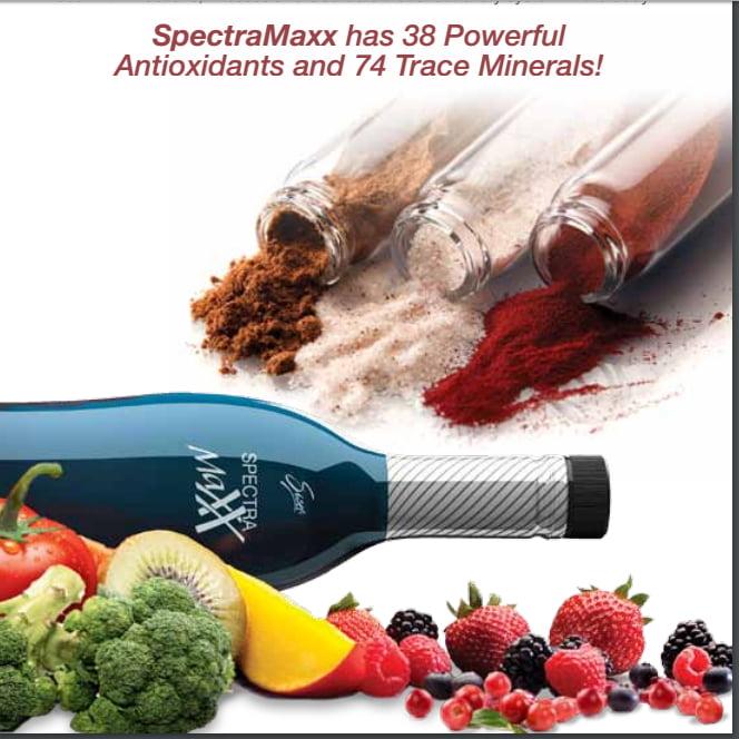 SpectraMaxx 38 antioxidants 74 Trace Minerals