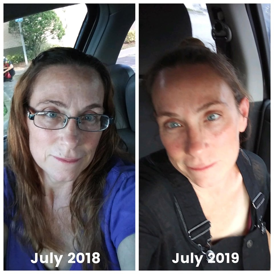 AGE Pill Testimonials: This is beautiful, Susan Komorowski. She has been on the AGE PILL and Transfusium for one year now. Doesn't she look amazing!