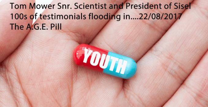 Flood of Testimonials the A.G.E. Pill