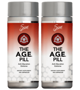 The SISEL AGE Pill Two Packs | Anti Aging Supplement | BToxicFree