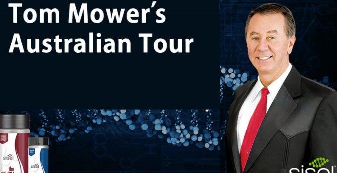 Tom Mower Australian Tour 2018