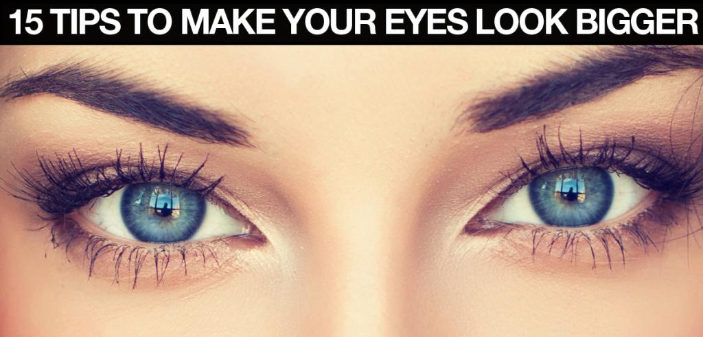 Makeup To Make Eyes Look Bigger With Gles - Mugeek Vidalondon