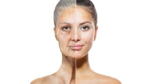 Stop wrinkly skin and hair loss