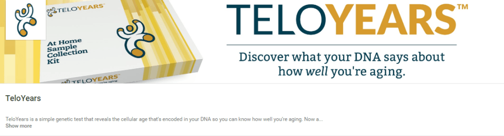 Telomere Testing with Teloyears